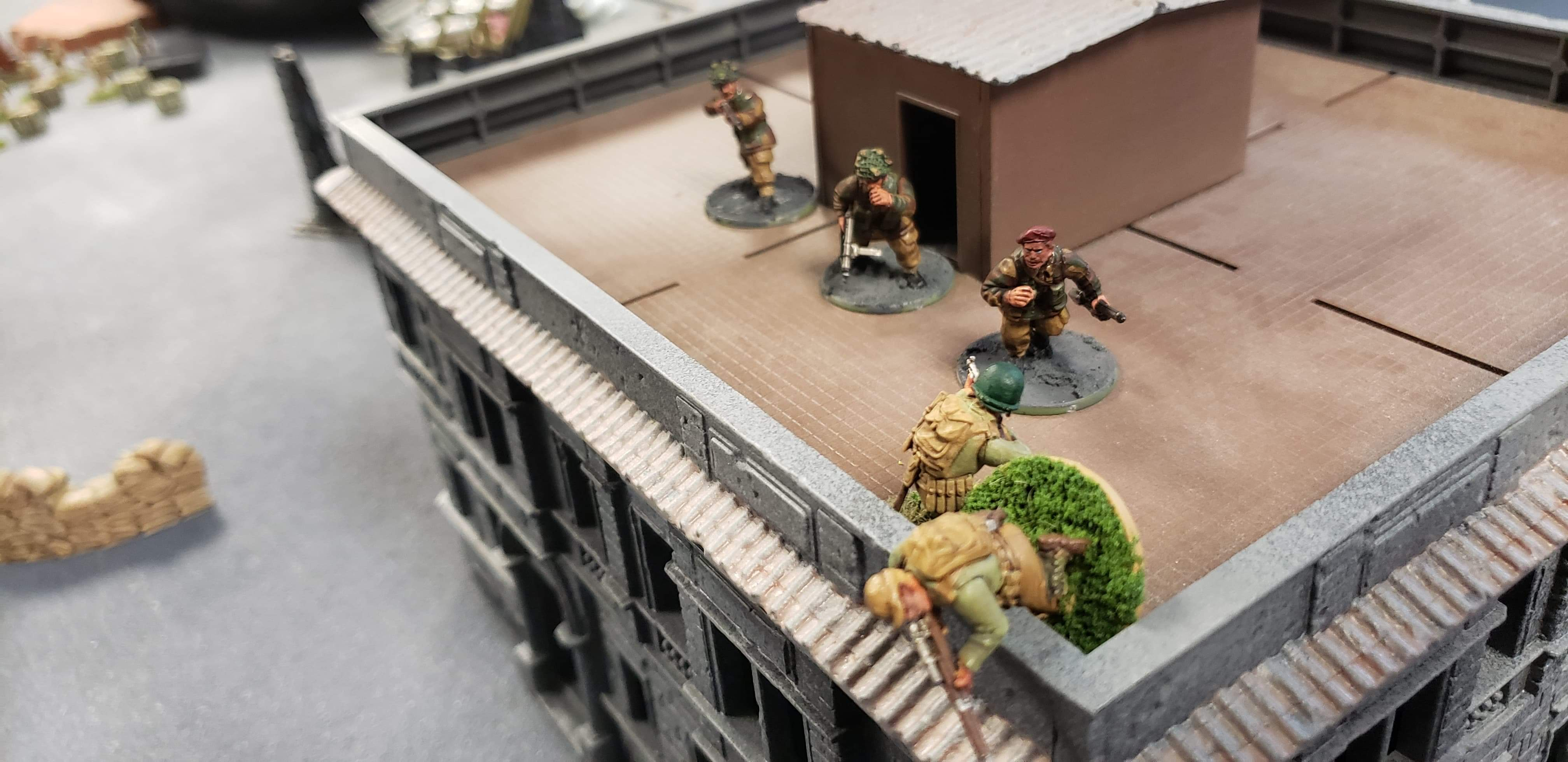 289th Infantry Regiment versus Der Hund in a fierce infantry engagement