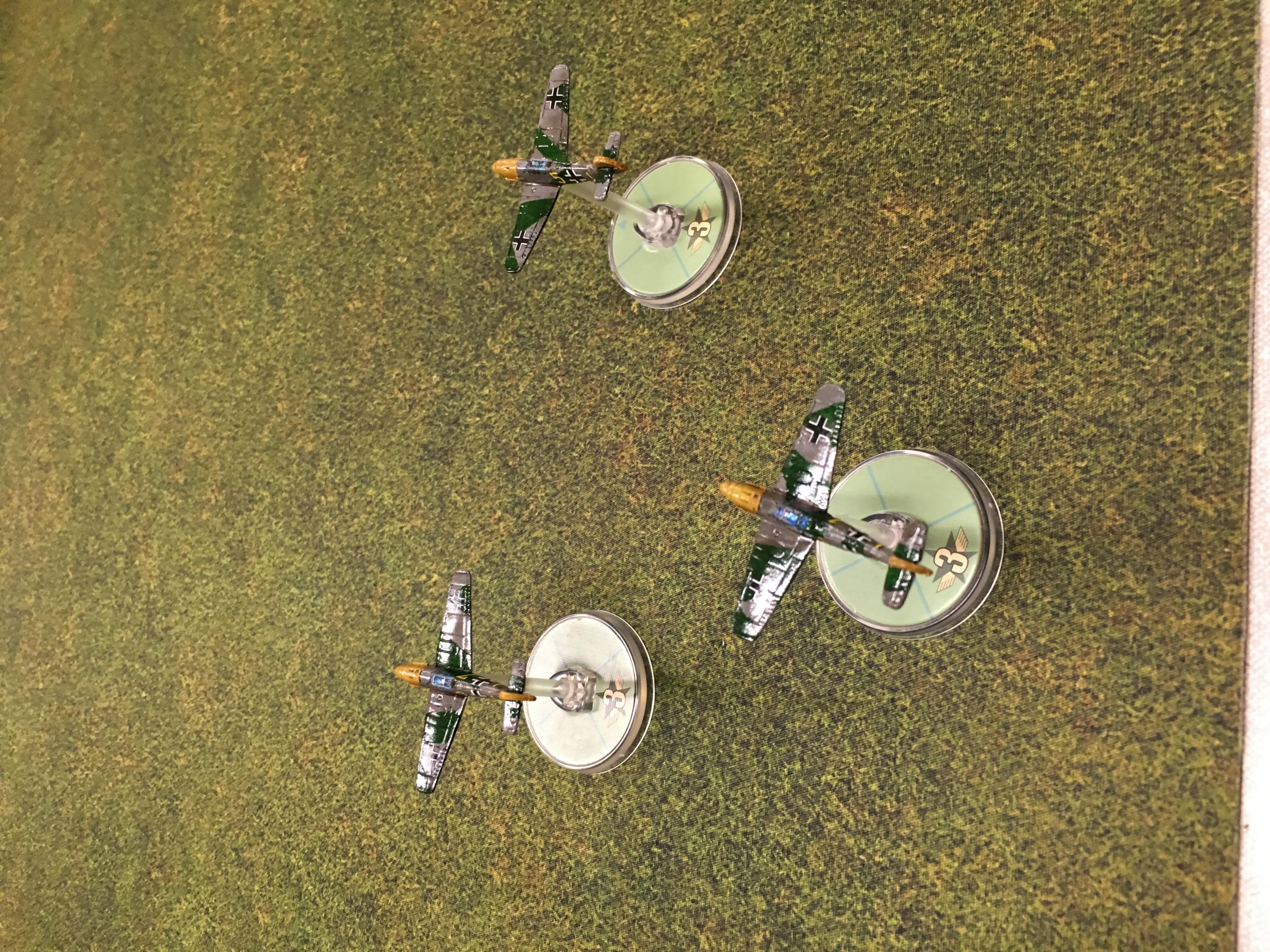 German grenadier's versus FFI in an aerial engagement