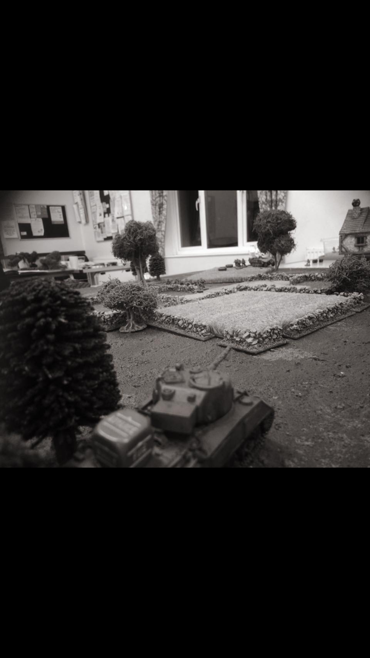 German grenadier's versus Desert Rats in an armoured engagement