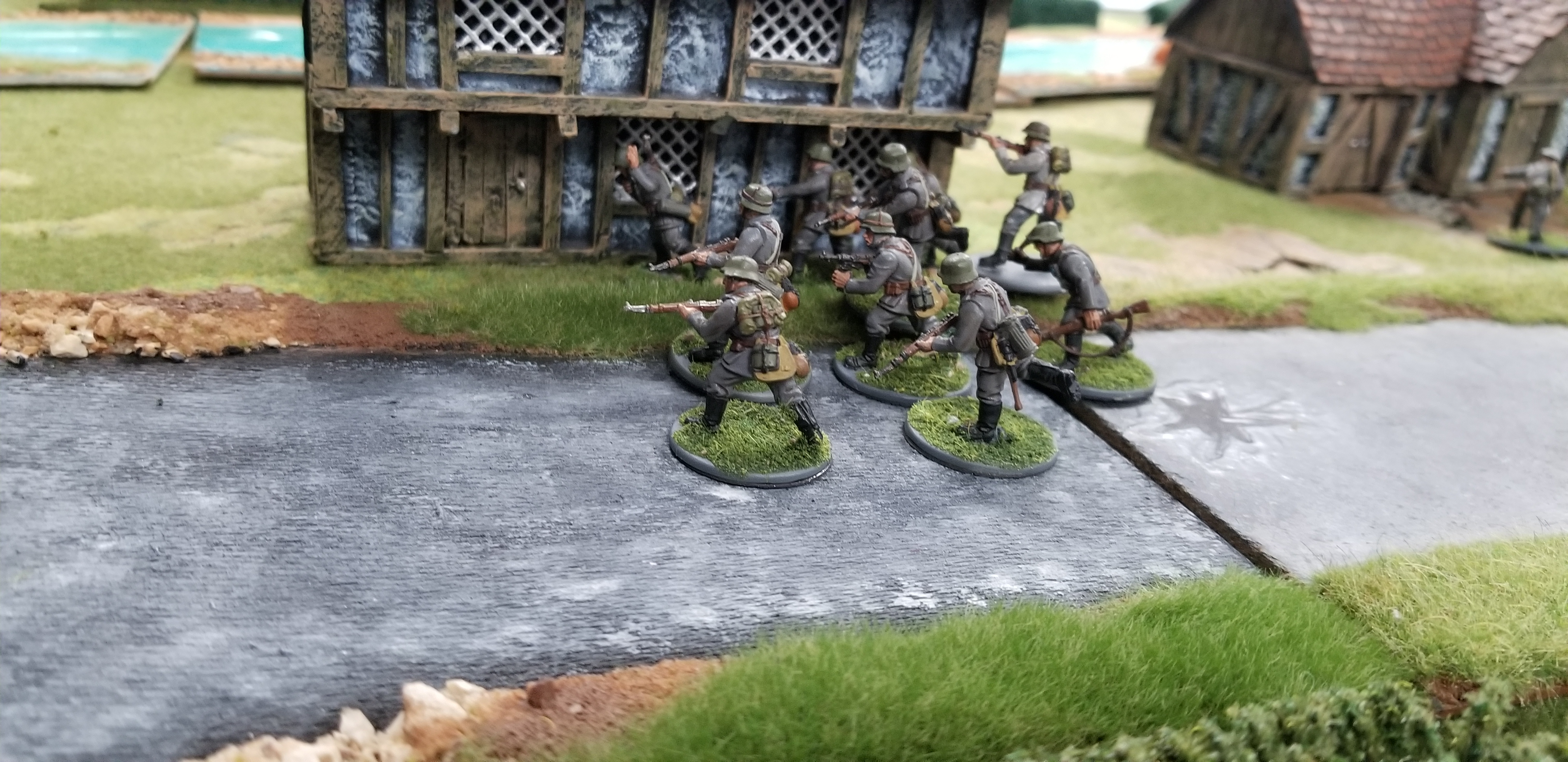 Finnish This versus Saber Tooth Pack in a fierce infantry engagement