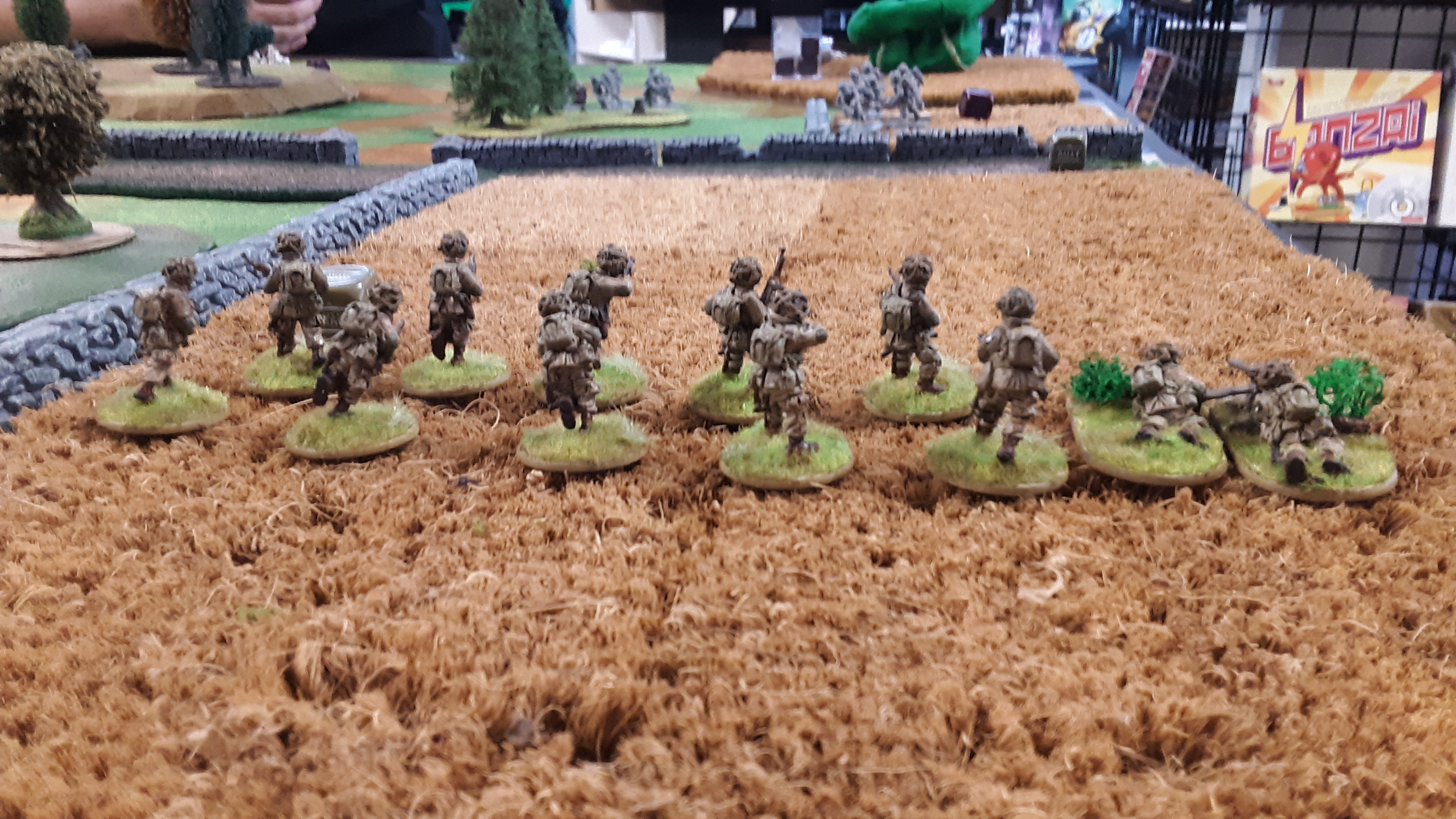 289th Infantry Regiment versus The 20th corps in a fierce infantry engagement