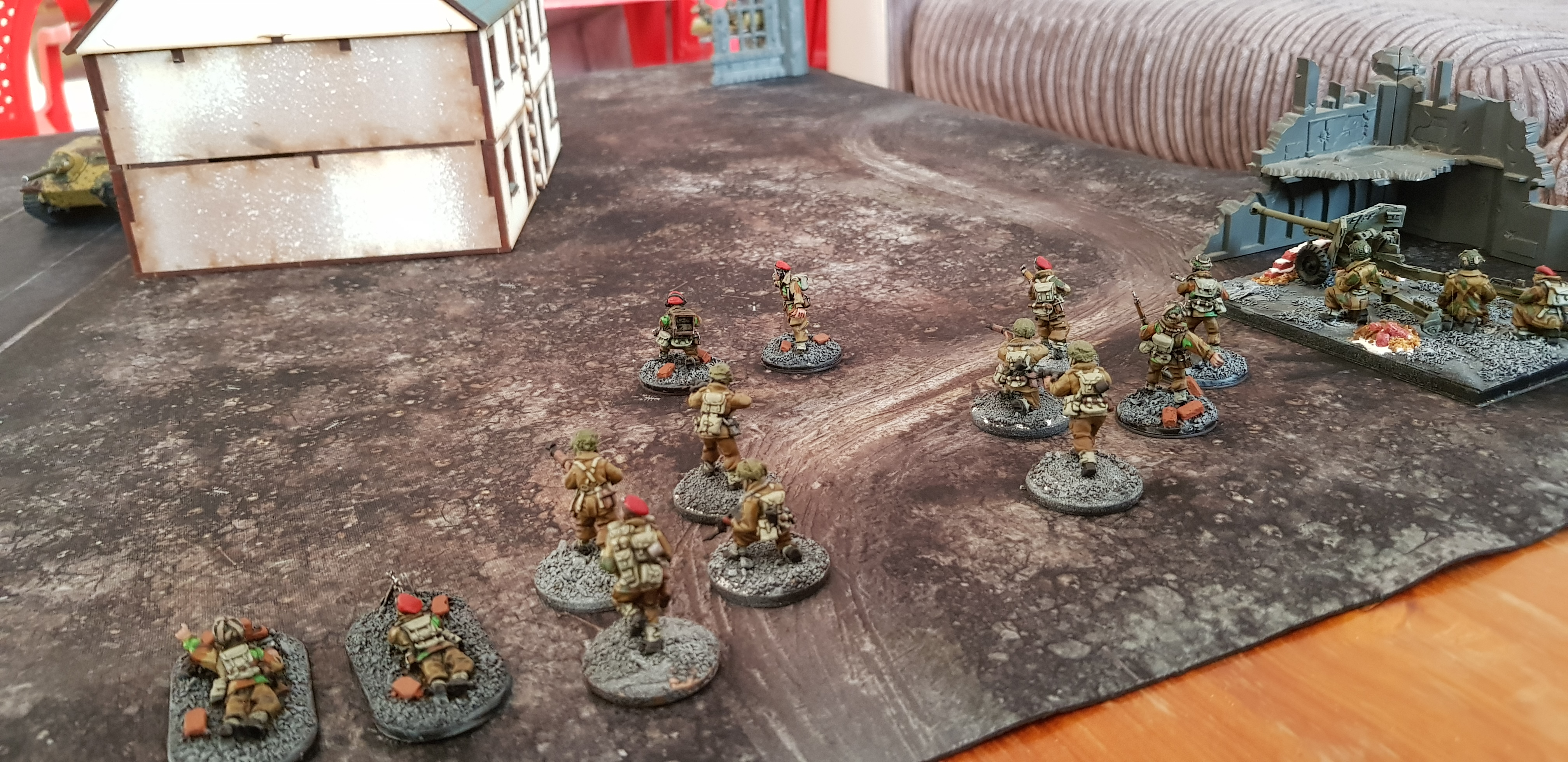 Nick Notorious Nightfighters versus Herman's Germans in a fierce infantry engagement