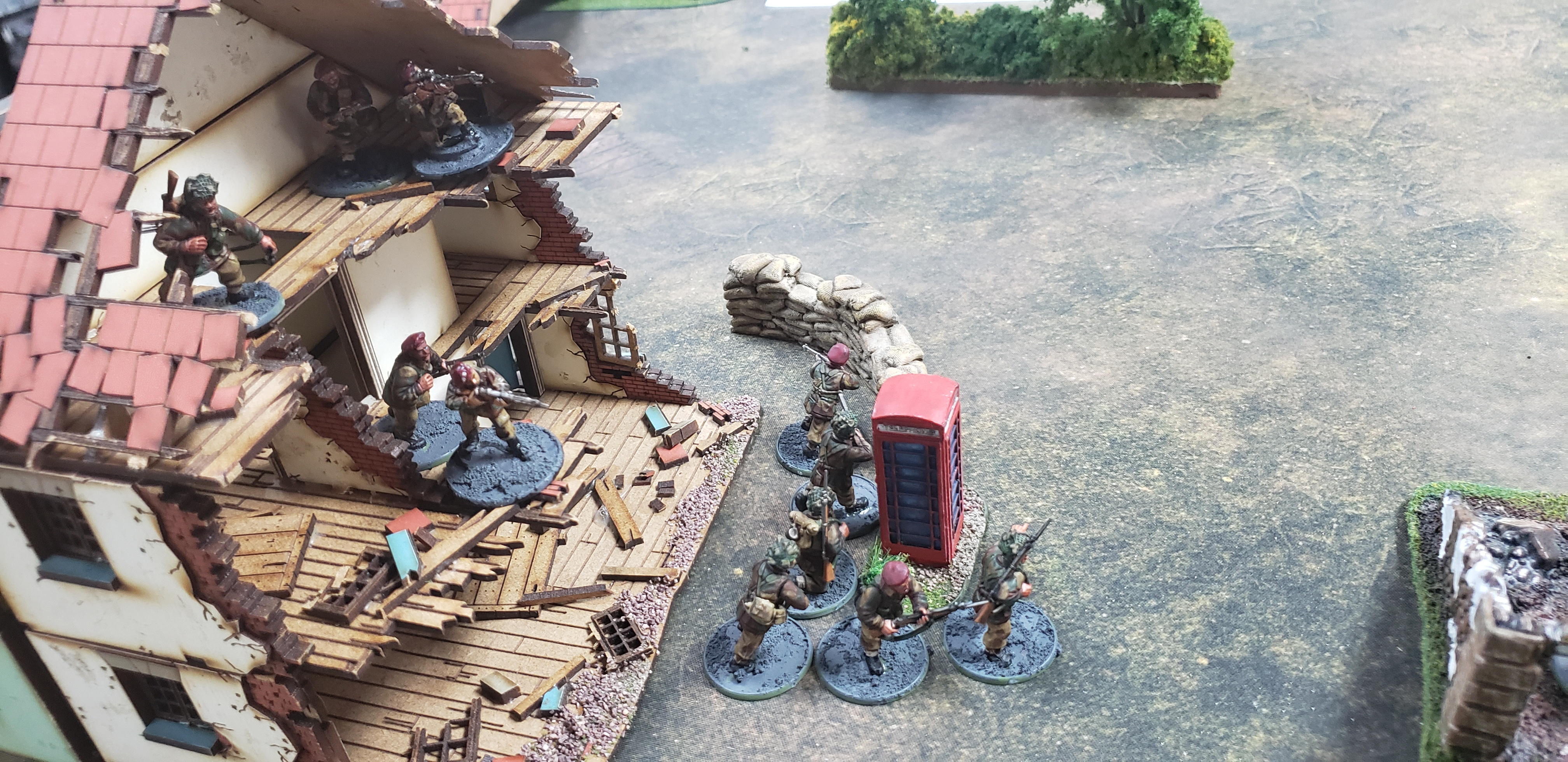 The Hounds versus 2nd SS Panzer Division in a fierce infantry engagement