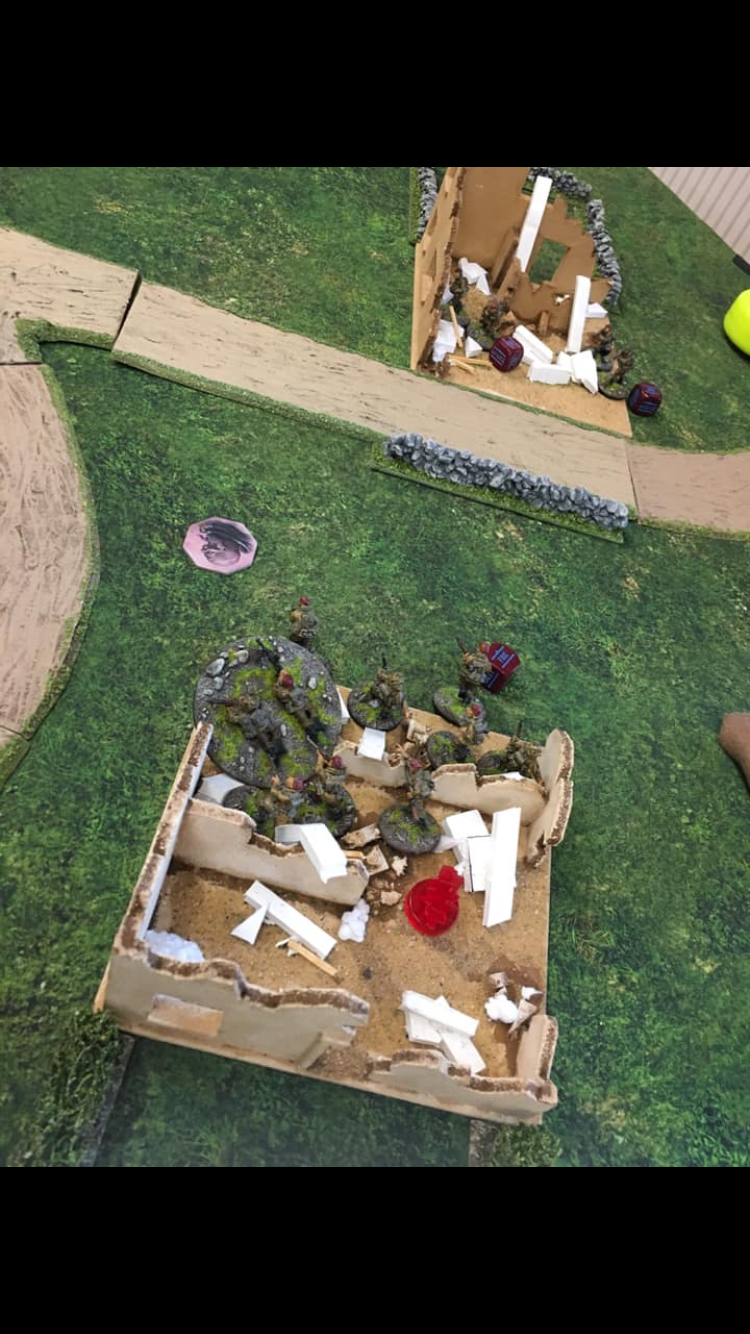 German grenadier's versus Canadian assault force in a fierce infantry engagement