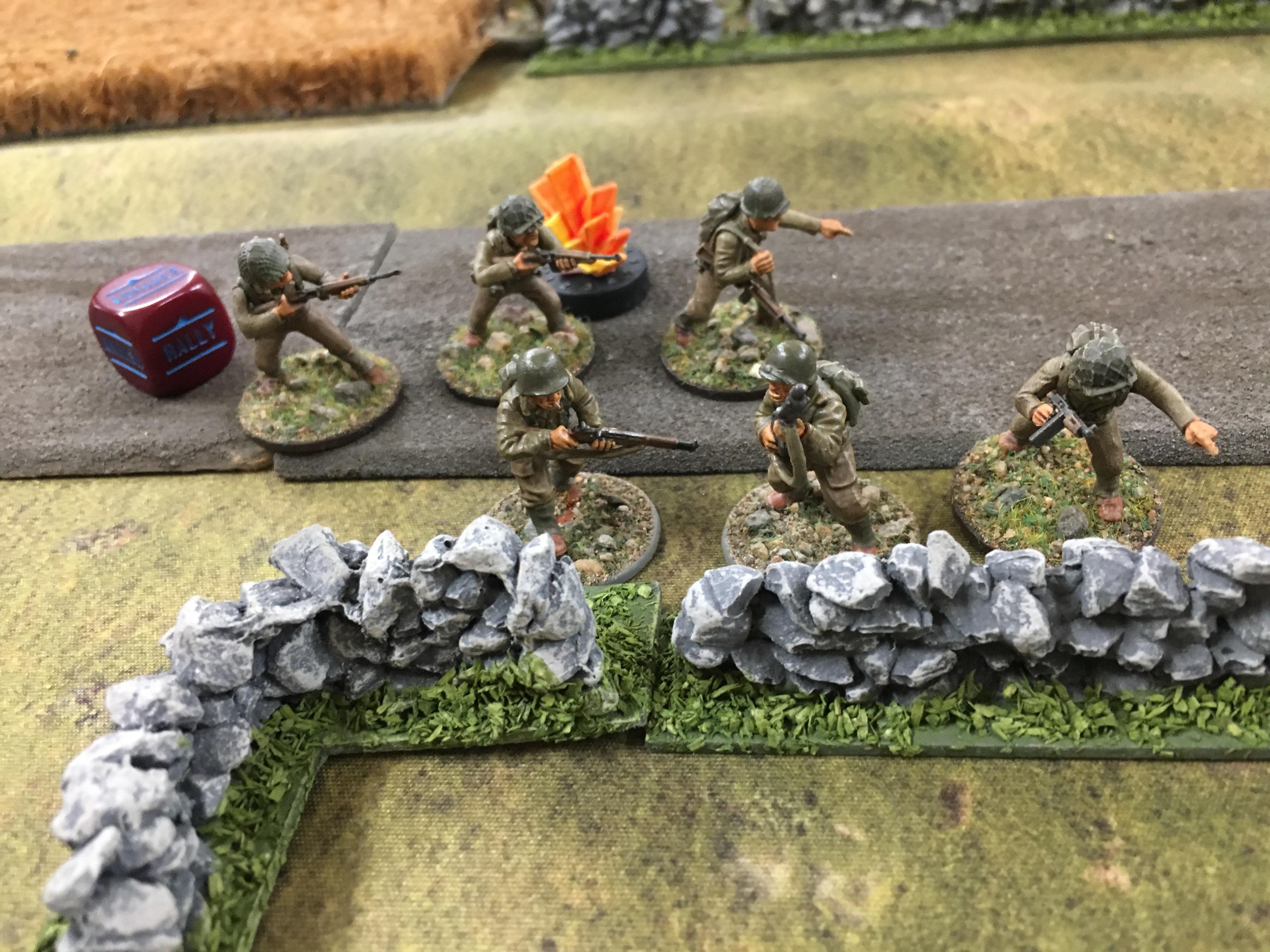 German grenadier's versus FFI in an armoured engagement