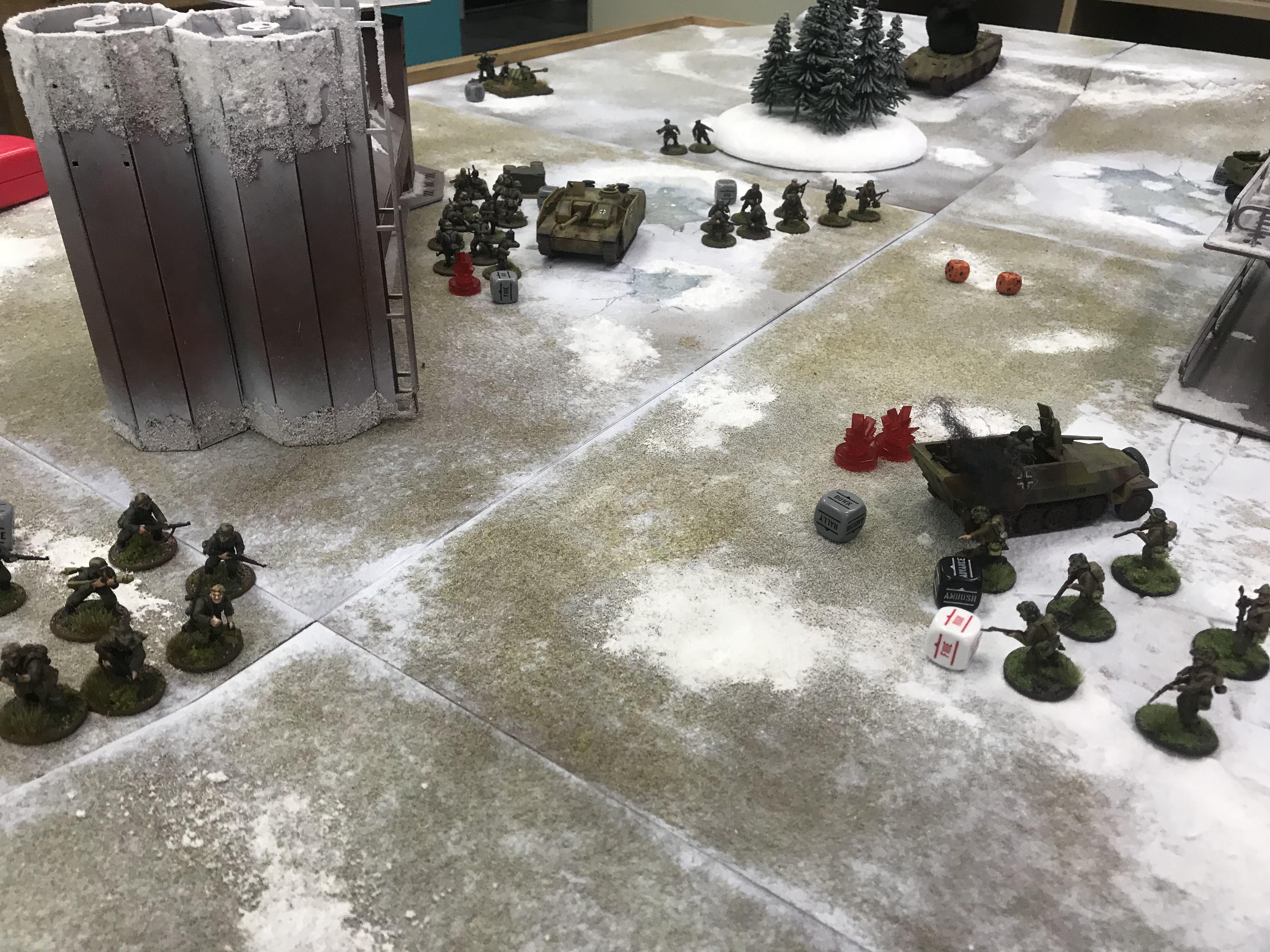 Heer Defenders versus Tea&Crumpets in a fierce infantry engagement