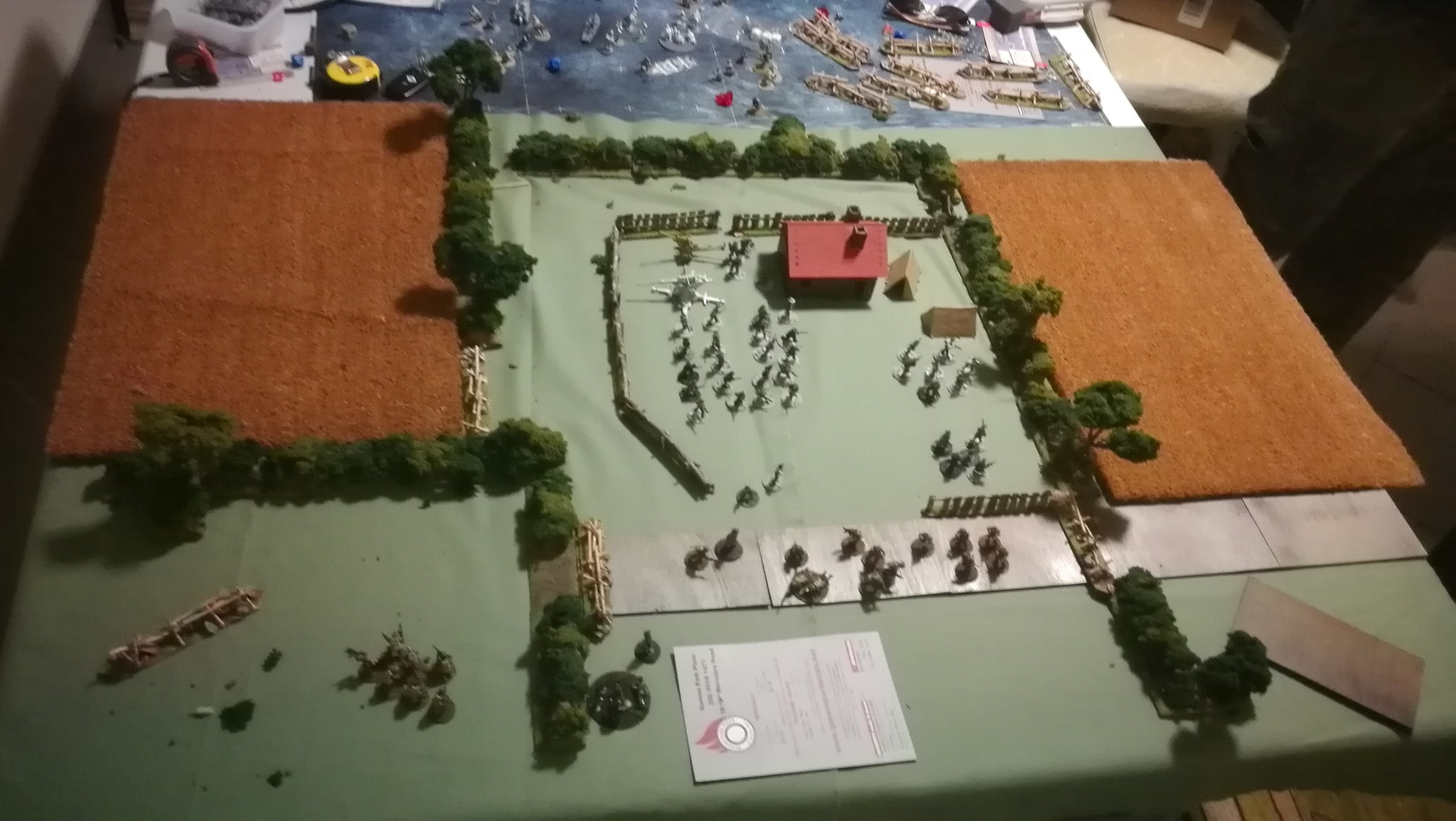 La Nueve versus The Poor Bloody Infantry in a fierce infantry engagement