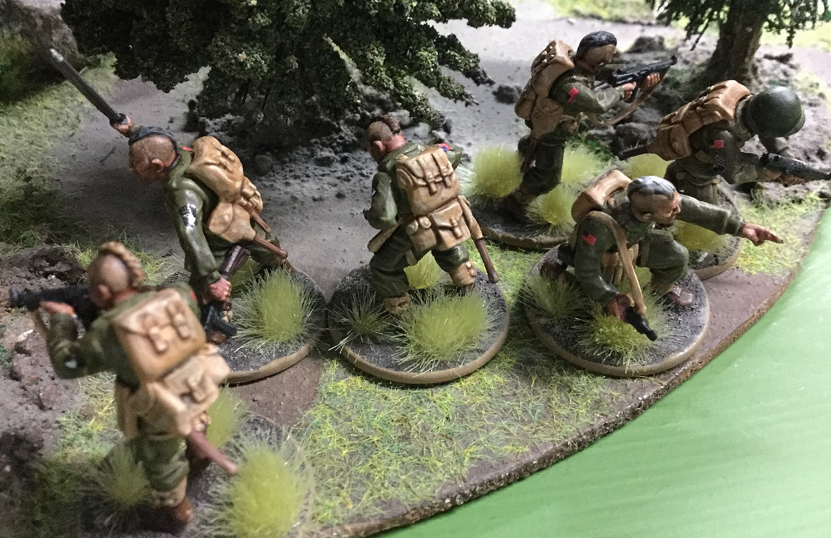 Brandenburgers versus Allies in a fierce infantry engagement