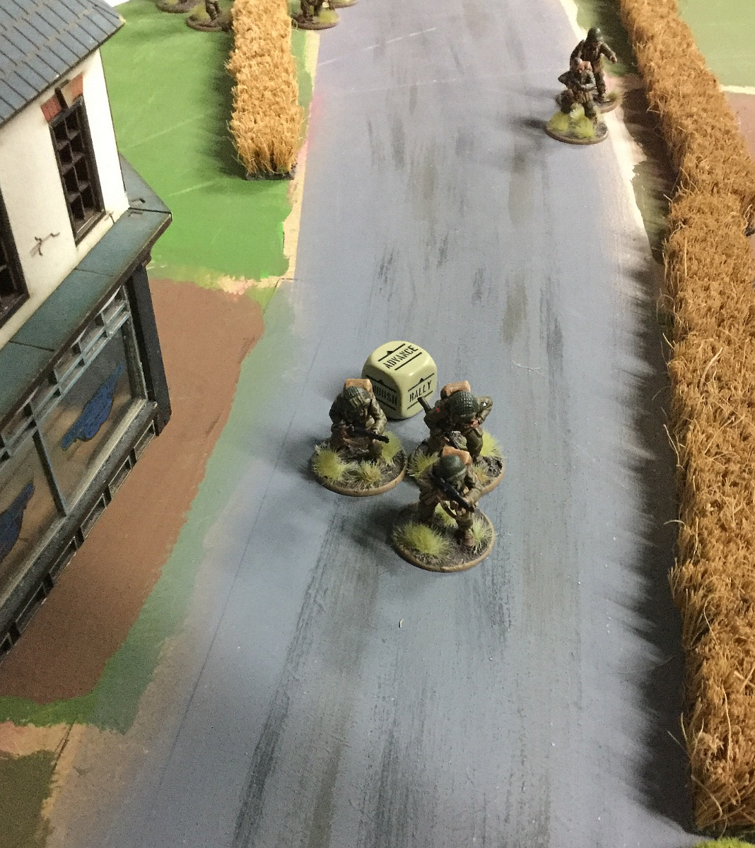 Brandenburgers versus Allies in a fierce infantry engagement