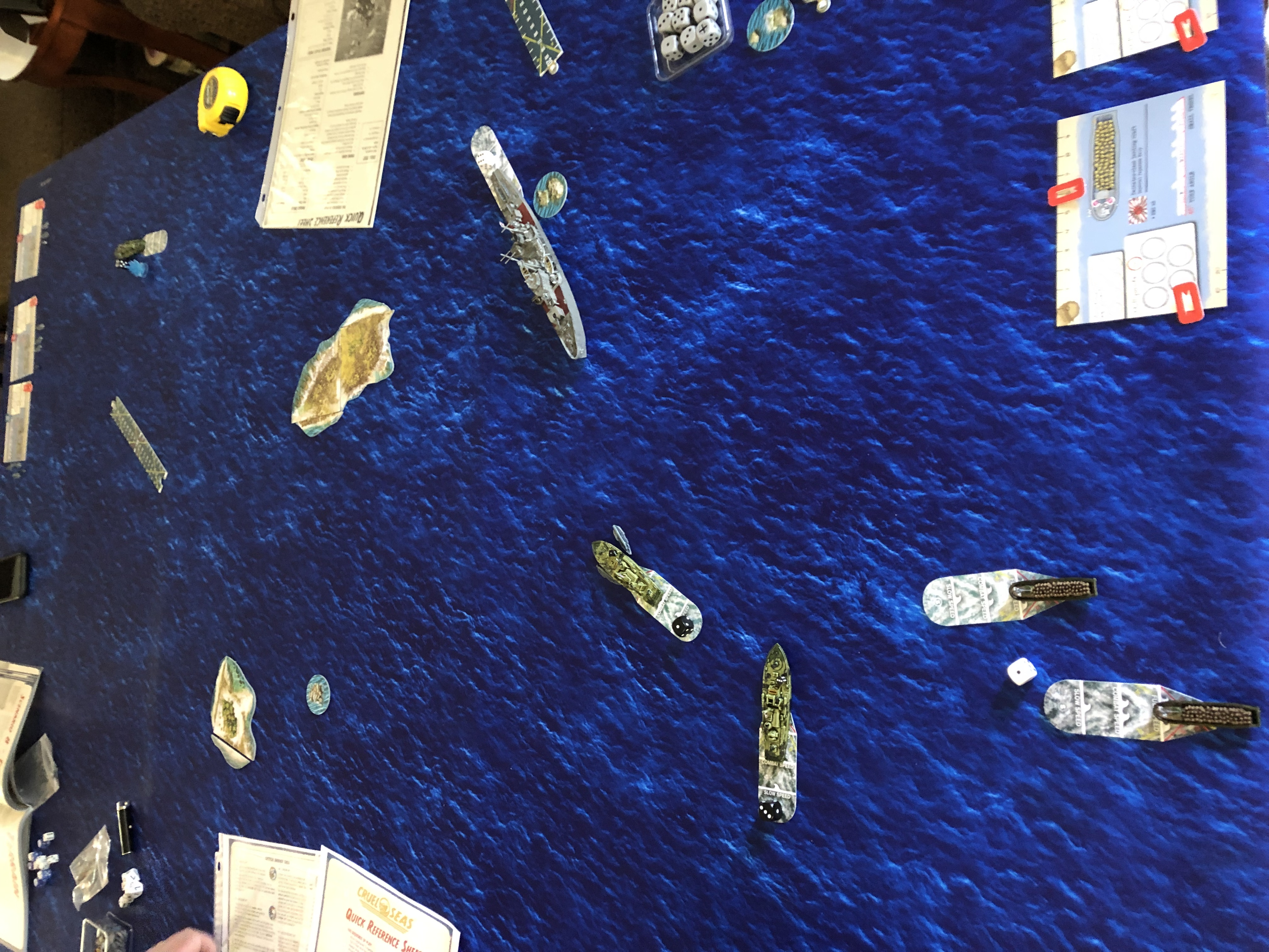 Skinner's Commandos versus The Wall in a coastal engagement