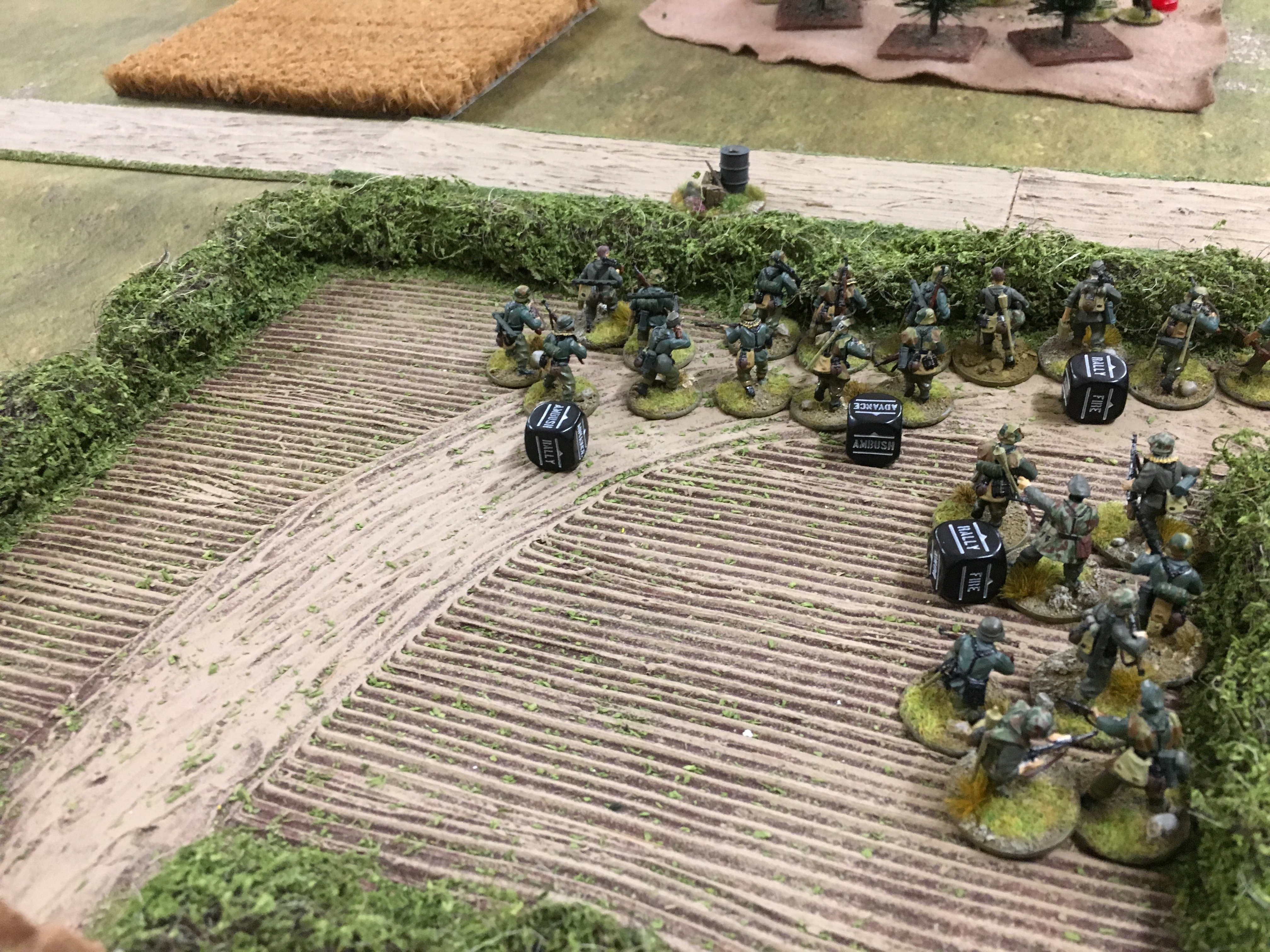 German grenadier's versus Nellyforce in a fierce infantry engagement