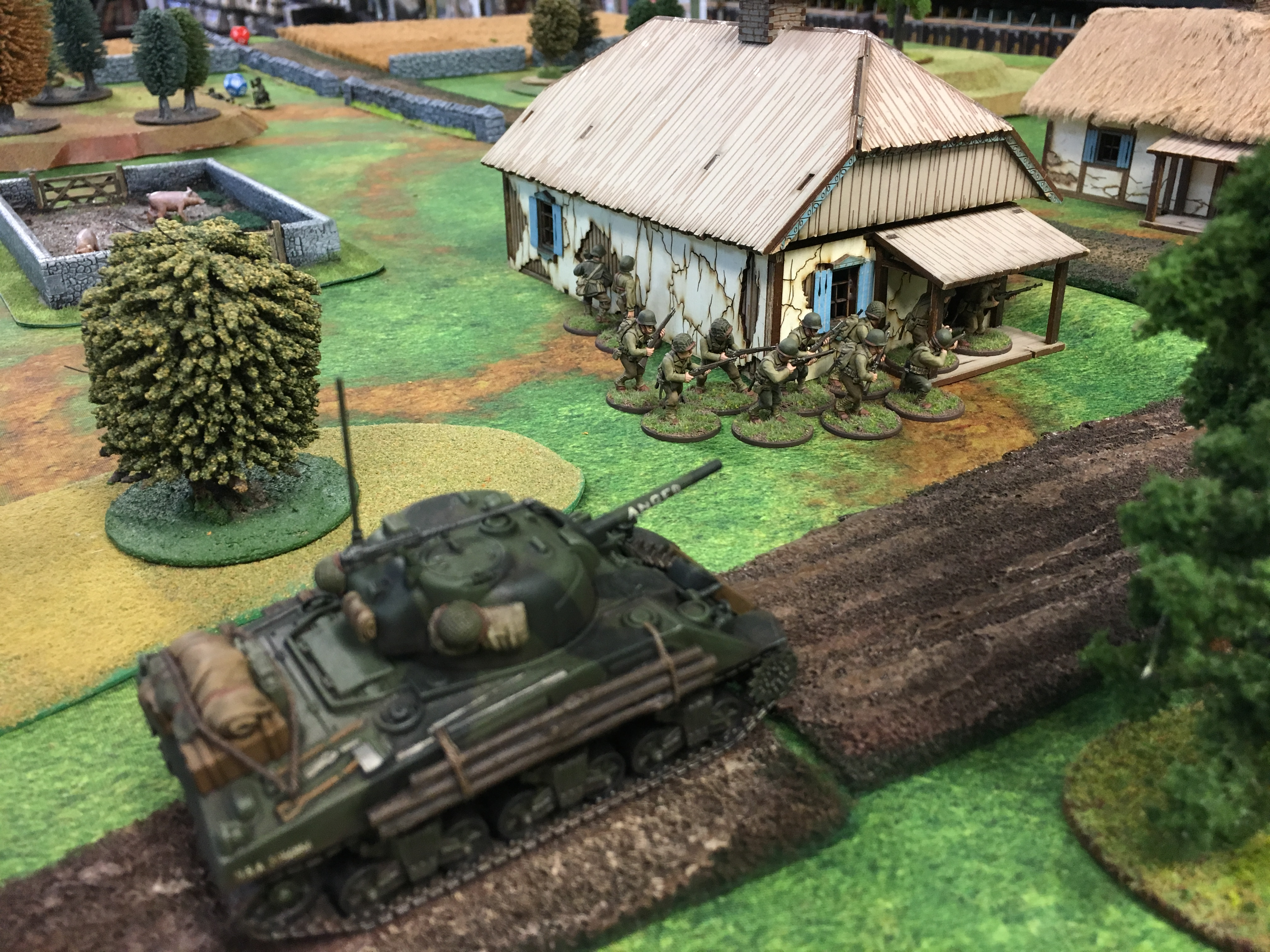 The Furious versus 352nd Pionier Battalion in a fierce infantry engagement