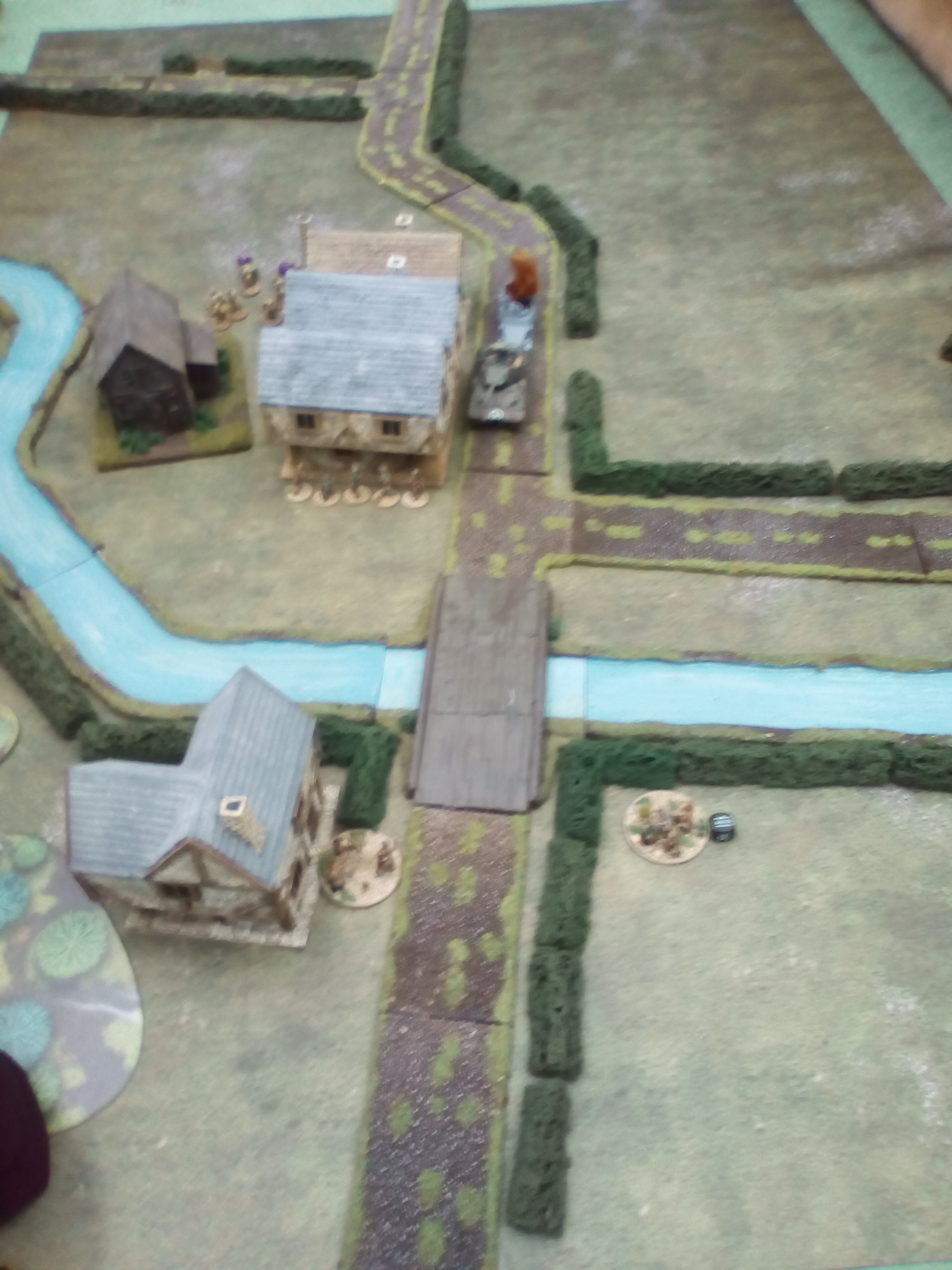 Force Grubber versus Hades Rangers in a fierce infantry engagement