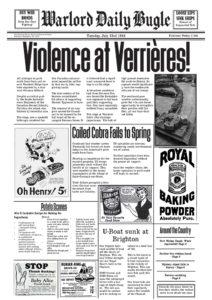 Warlord Daily Bugle July 23rd