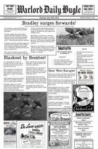 Daily Bugle July 30th