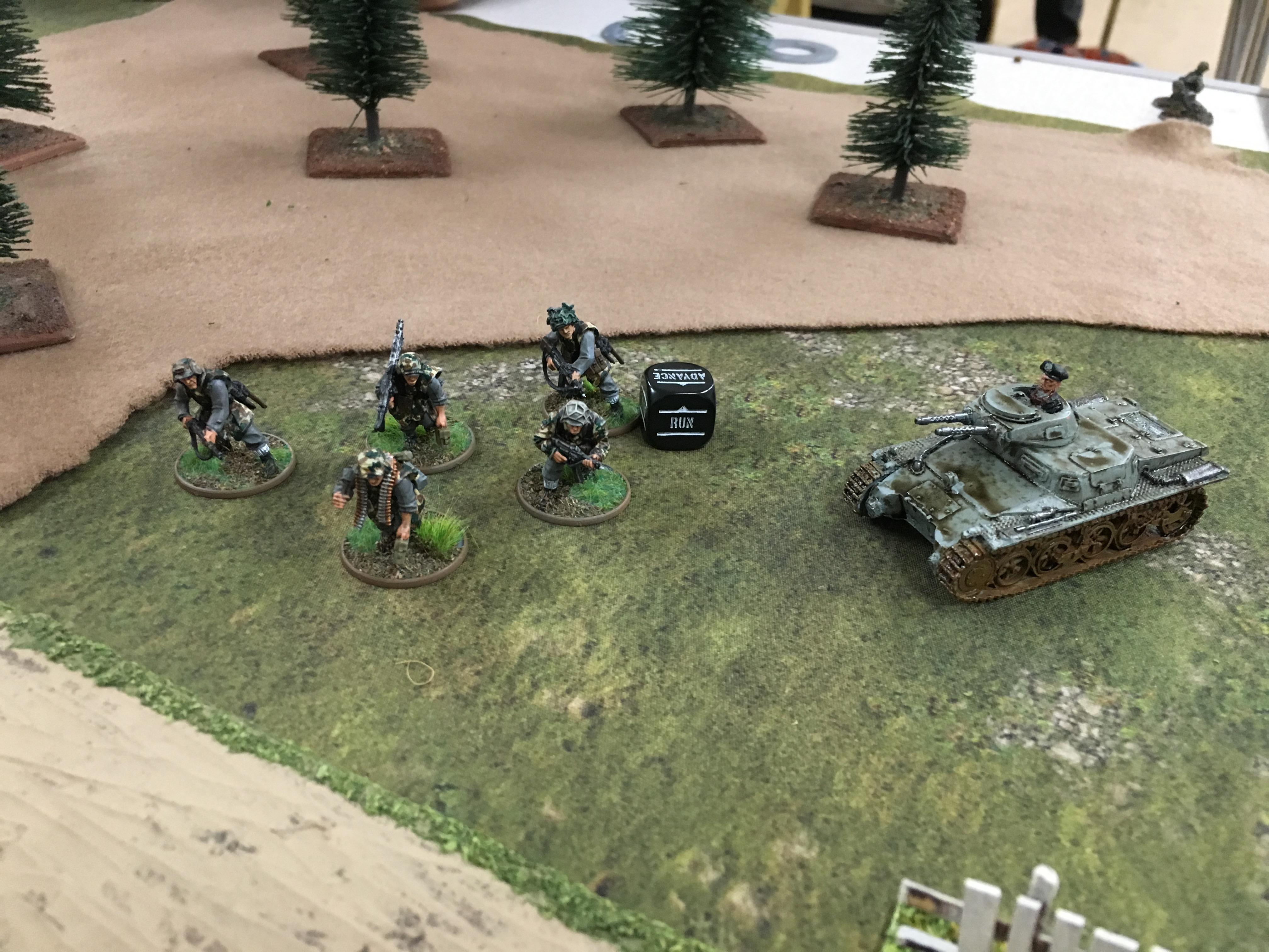 Canadian assault force versus Platoon Storm in a fierce infantry engagement