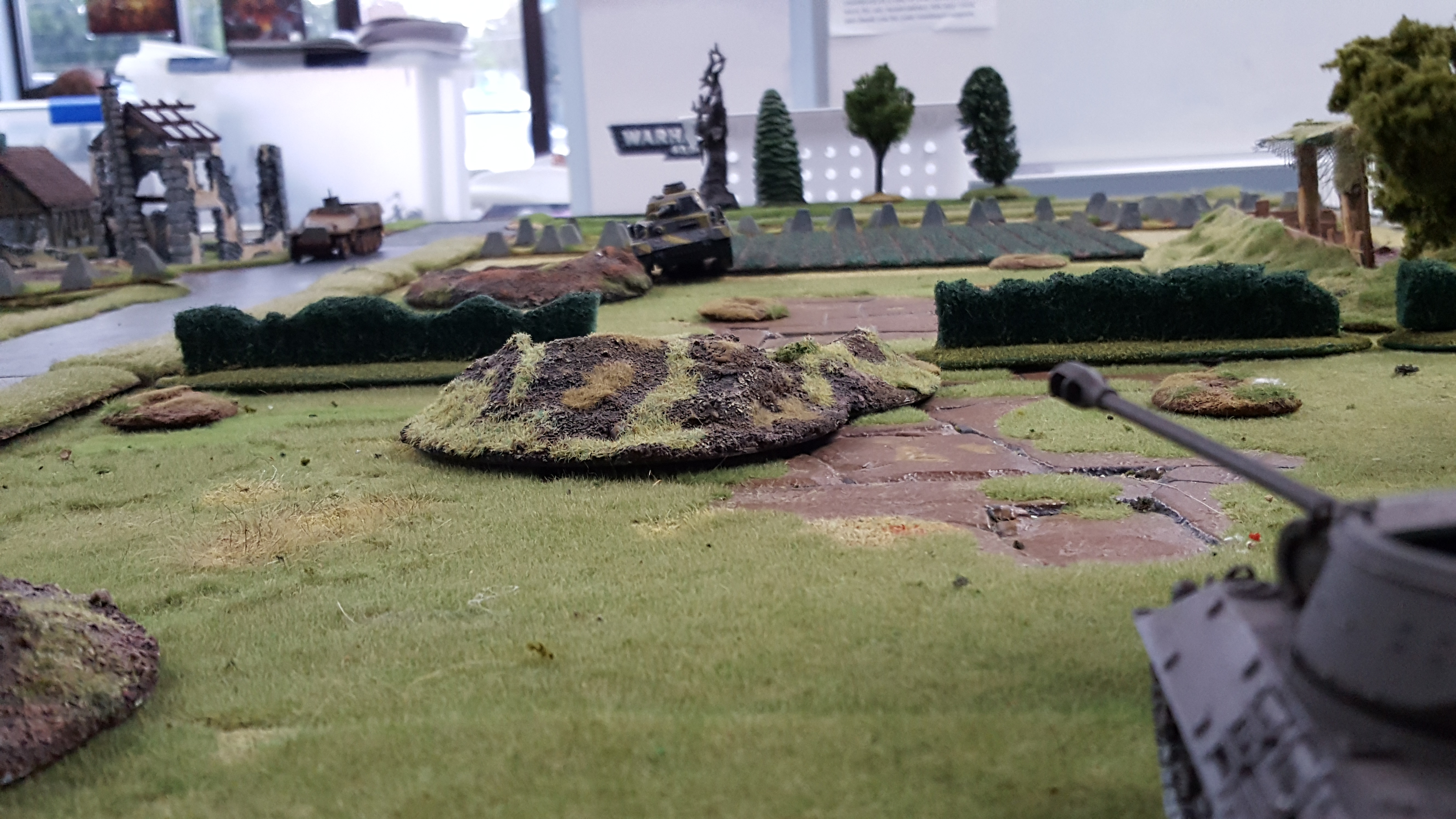 kampfgruppen smiledge versus Combat engineers in an armoured engagement