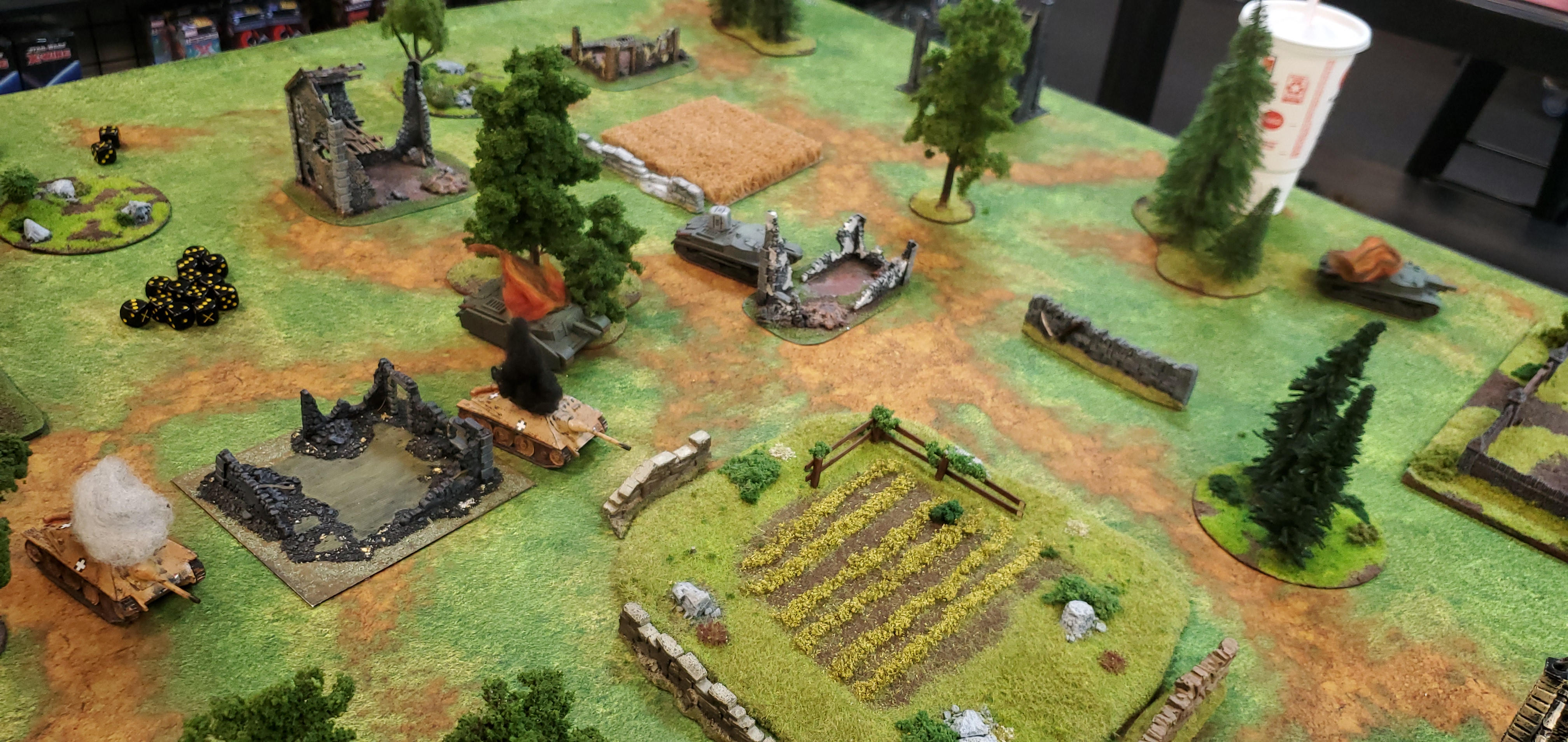 1st SS Panzer Division Leibstandarte SS Adolf Hitler versus Irish Rangers in an armoured engagement