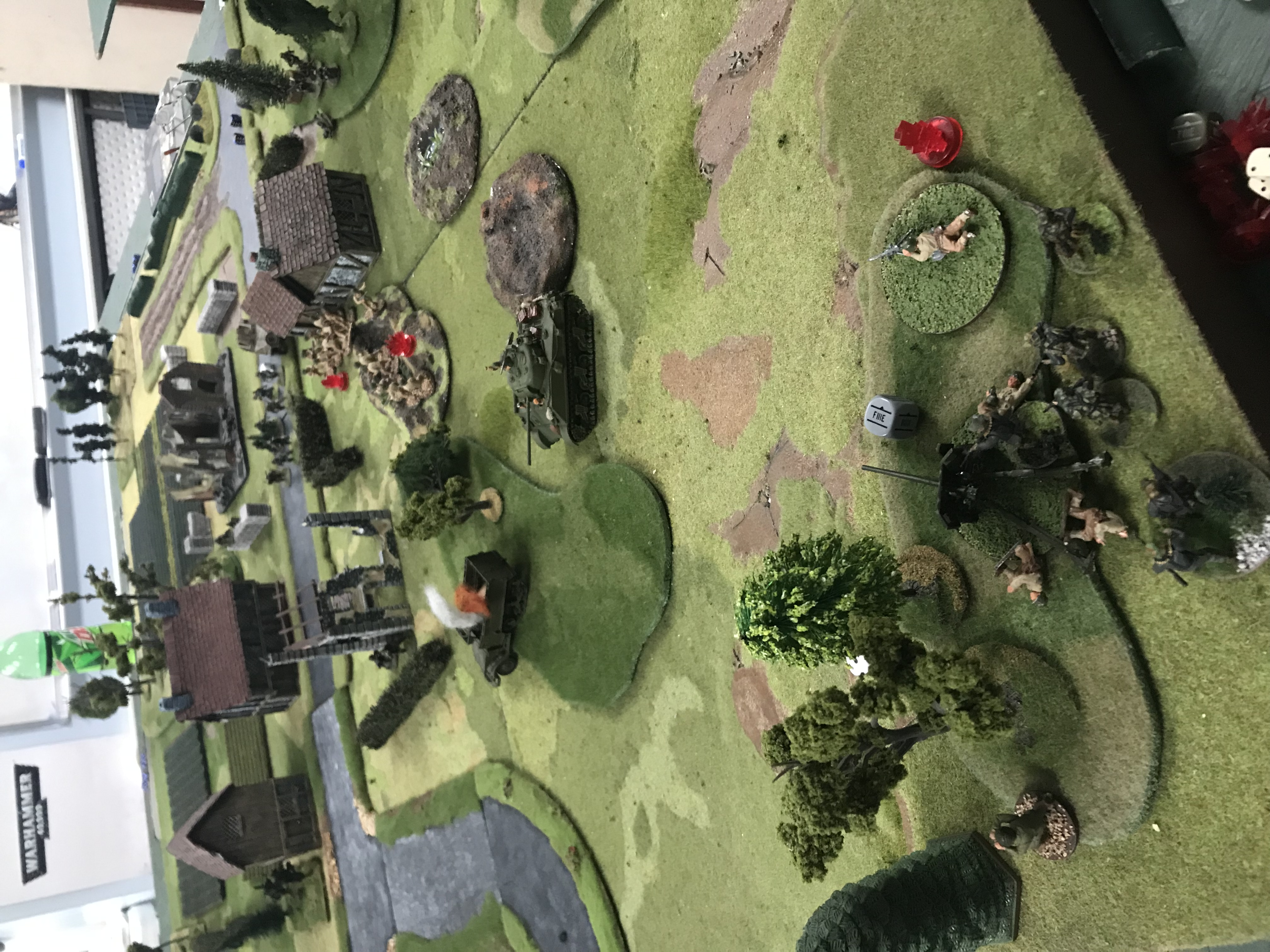 America's spearhead versus kampfgruppen smiledge in a fierce infantry engagement