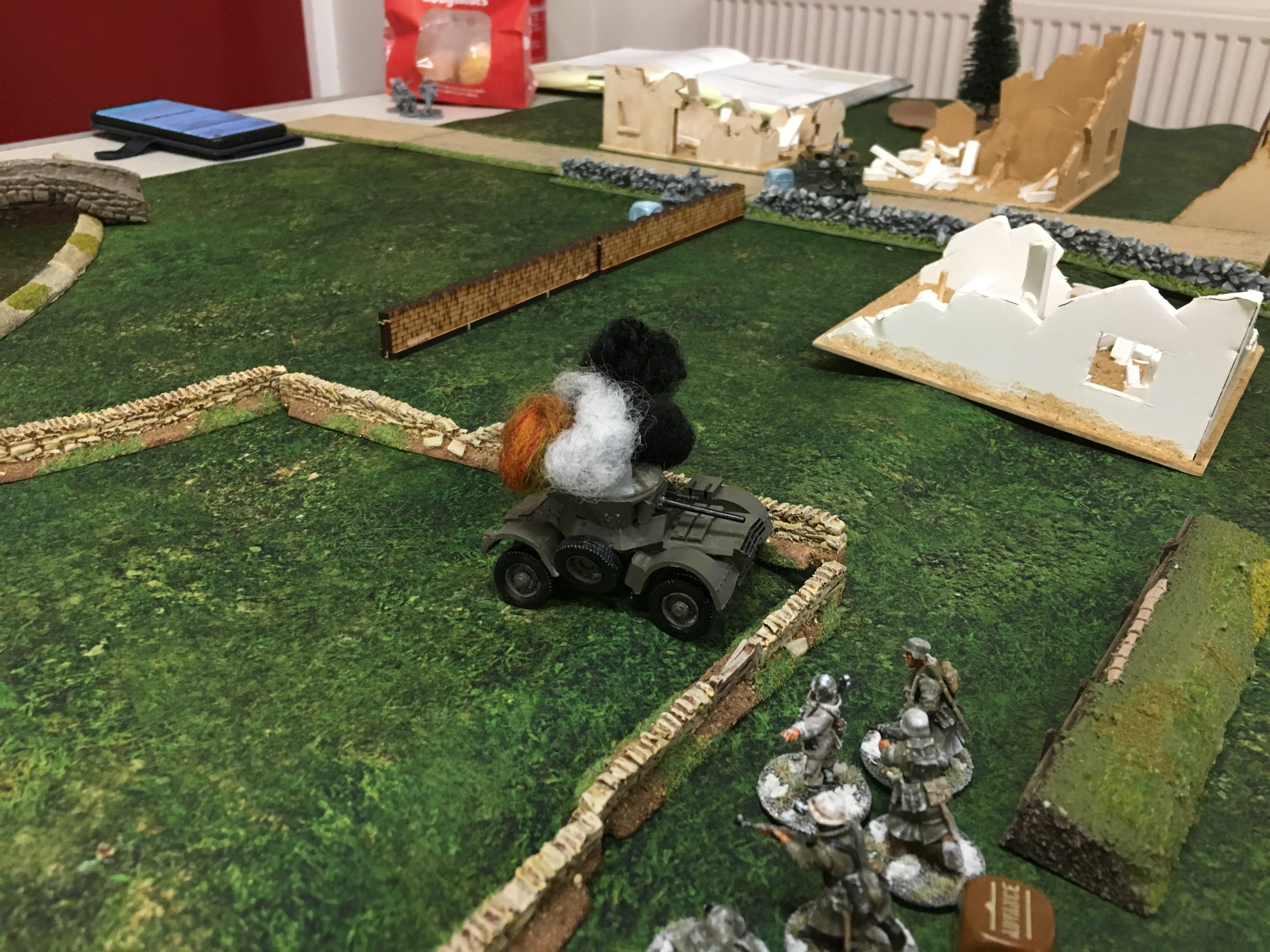 German grenadier's versus 2nd light rifles in a fierce infantry engagement