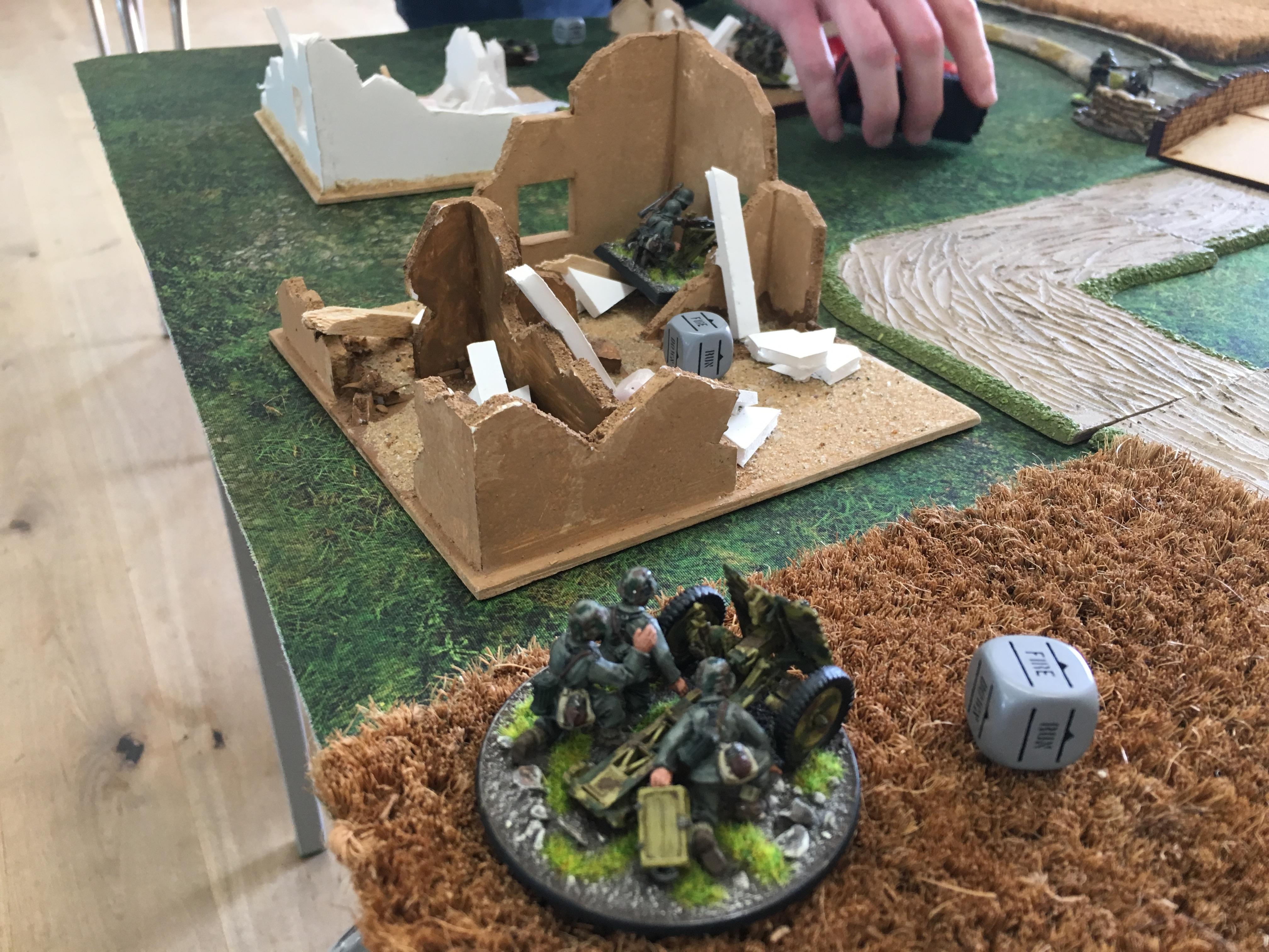 German grenadier's versus 1st USMC Division in a fierce infantry engagement