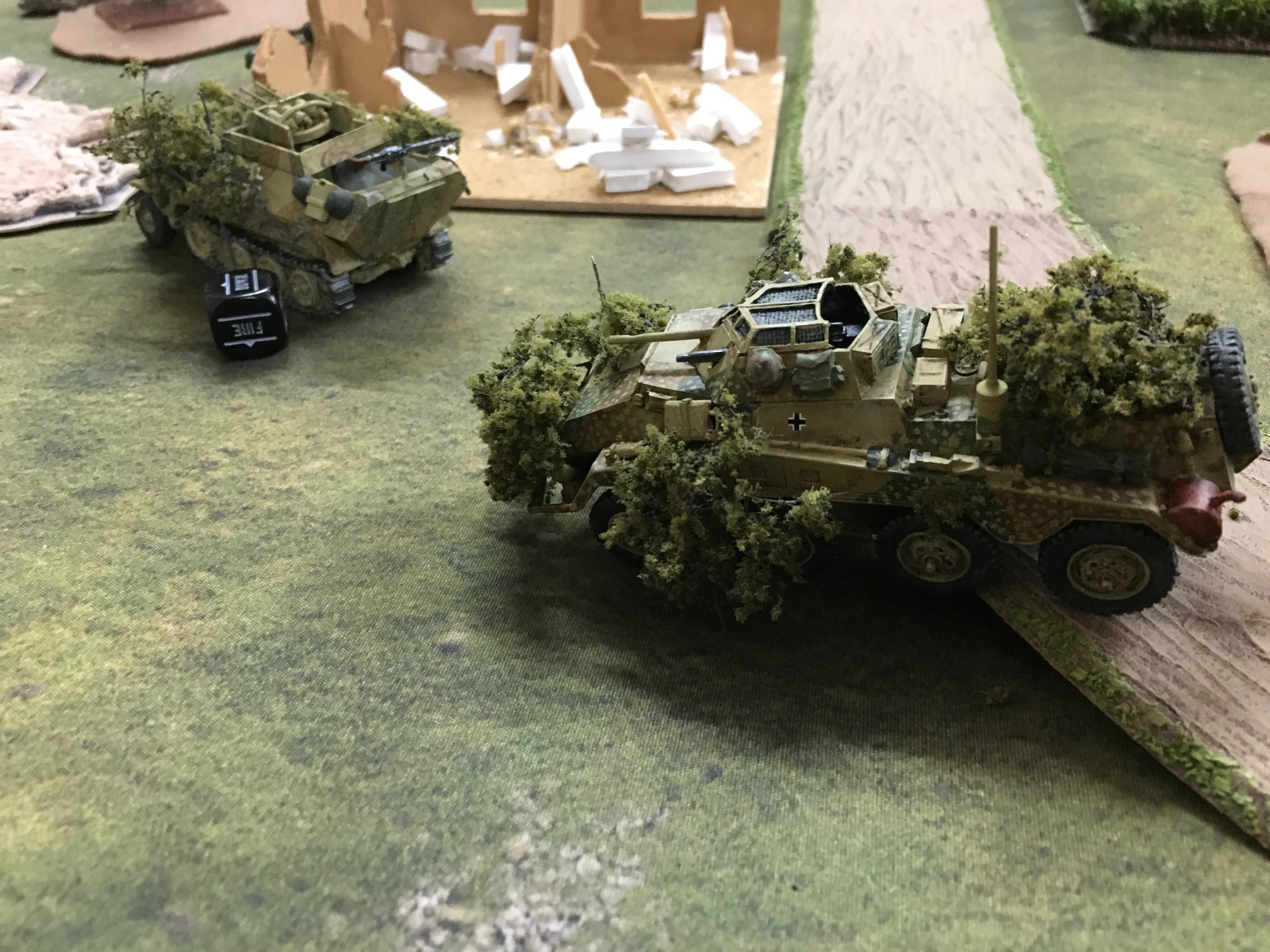 German grenadier's versus Alpha co in a fierce infantry engagement