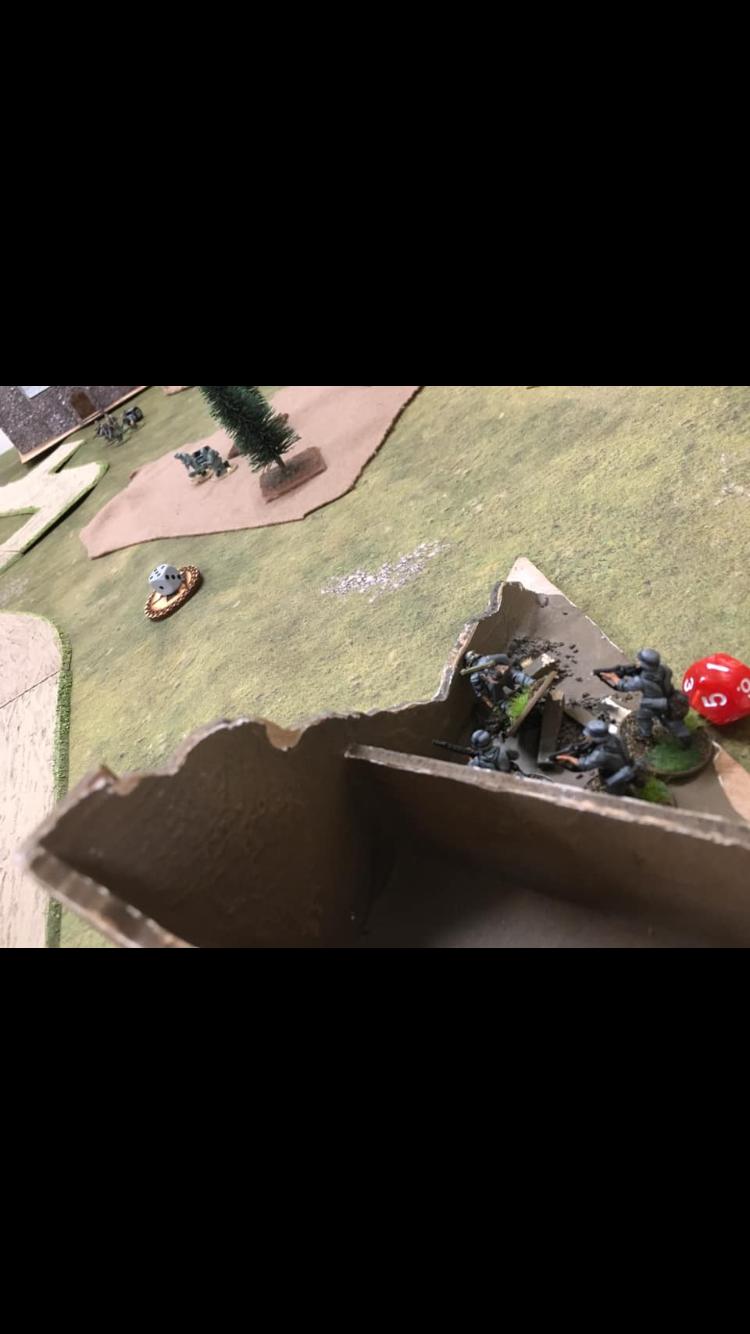 German grenadier's versus FFI in a fierce infantry engagement