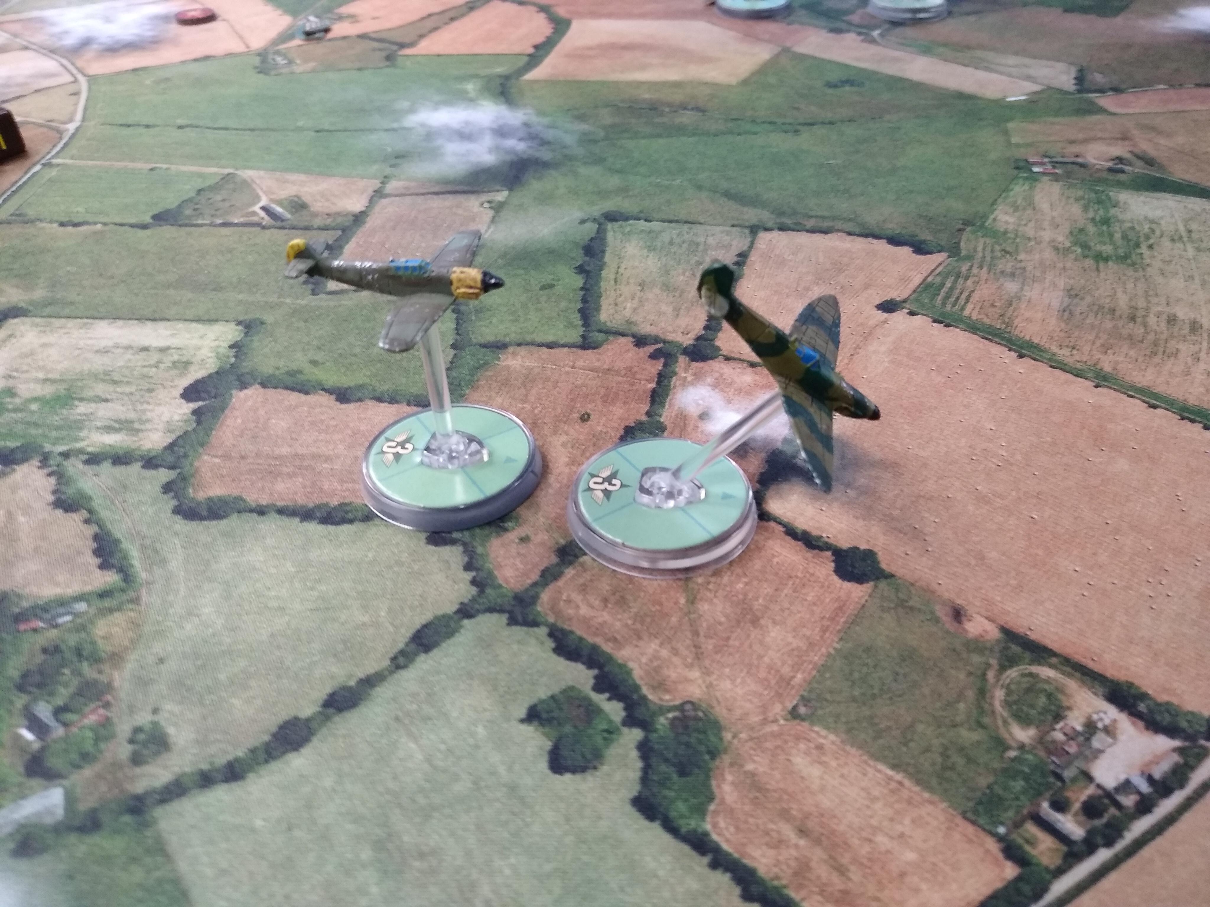 1.Minensuchenflotille versus Irish Rangers in an aerial engagement