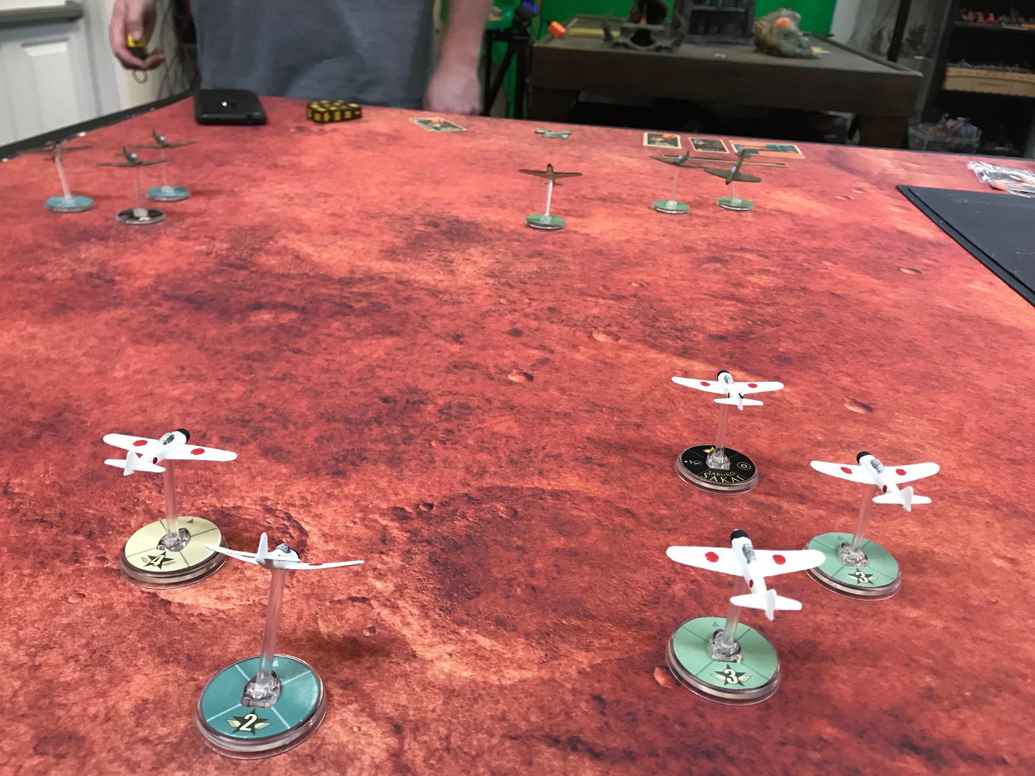 DeathFinns versus 1.Minensuchenflotille in an aerial engagement