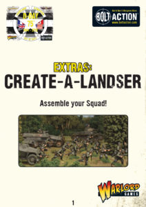 Create-a-Landser | Bolt Action Campaign