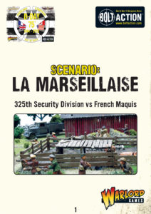 La Marseillaise | 325th Security Division vs French Maquis