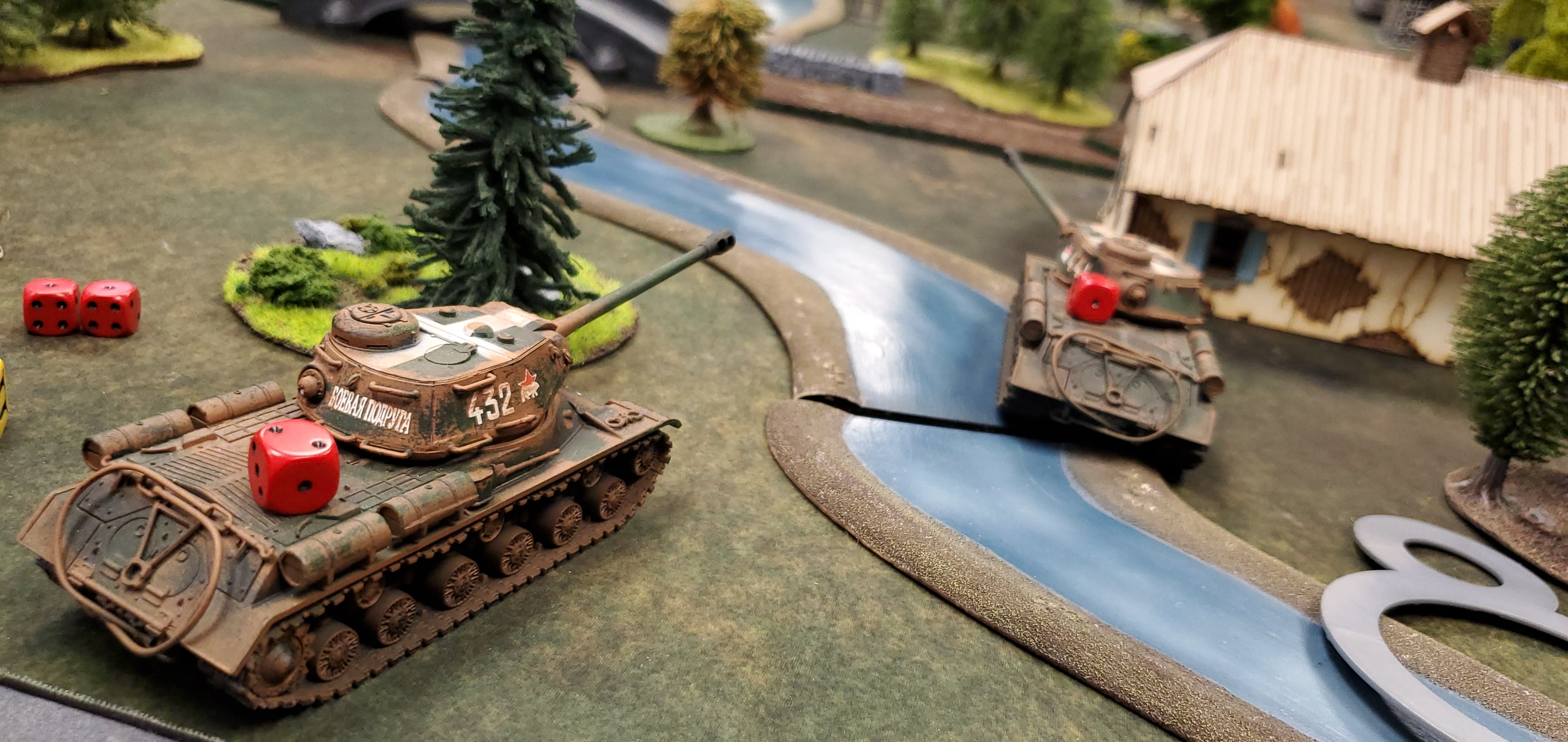 2nd SS Panzer Division versus Zemsta Escadrille in an armoured engagement